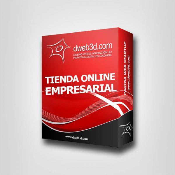 comprar paquete de diseño de tienda online empresarial